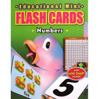 [HelloPandaBooks] Flash Cards NUMBERS with Mini Chart Inside! (Contains 32 Cards)