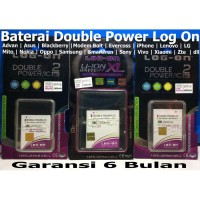 Baterai Log on Bolt Huawei Slim HB5F2H/Batre/Original/Double Power