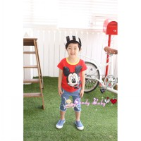 BSCB058 - SETELAN CANDYBABY MICKEY SET JEANS