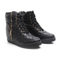 Dr.Kevin Boot Shoes Leather 6005 Black