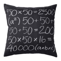 IKEA (R) - FUFFLA Cushion Remaja, Dark Grey (50x50cm)