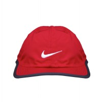Nike Topi Olahraga Tennis Lari FEATHERLIGHT CAP 2.0 Original 611811-687