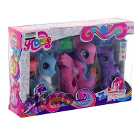 Mainan Little Pony Figure New Style Isi 3 pcs - Ages 3+