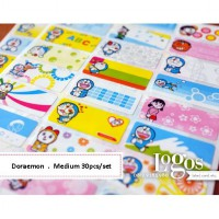 Doraemon Sticker MEDIUM Name Label