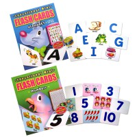 [HelloPandaBooks] Flash Cards with Mini Chart Inside! (Contains 32 Cards)