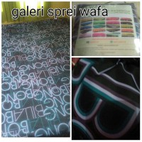 Sprei Waterproof Motif Billabong UK 200x200x25