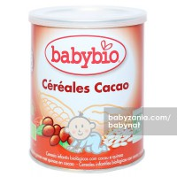 Babynat Organic Cereal Cacao 220gr - 8m+