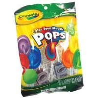 [macyskorea] The Nutty Fruit House Crayola Color Your Mouth Lollipops 1 Count/7125968