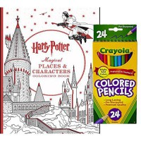 [macyskorea] Scholastic, Crayola Crayola Colored Pencils, Set of 24, and Harry Potter Magi/10583494
