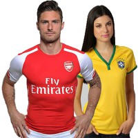 [oppastyleshop] SALE SOCCER JERSEY CLUB SEASON 14/15 ★ MAN / WOMEN ★ POLYSTER DRI FIT