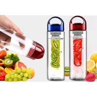 [PROMO Tritan] Promo Botol Tritan / Tritan Infused Water Bottle With Fruit Infuser BPA Free