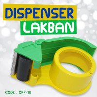 MOSHI MOSHI TAPE DISPENSER / TAPE CUTTER / PEMOTONG LAKBAN / PEGANGAN - OFF-10