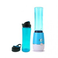 Shake and Take Generasi 3 Double Cup Juicer Blender Warna Biru