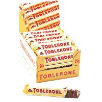 [poledit] Toblerone, Milk, 1.23-Ounce (Pack of 24) (T1)/12132606