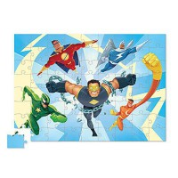 [poledit] Crocodile Creek Super Heros Junior Jigsaw Puzzle (72 Piece), 14` x 19` (R1)/13387808
