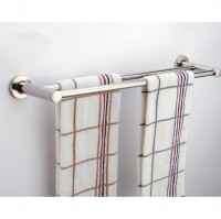 Gantungan Handuk Stainless Steel Double Bar 50 cm