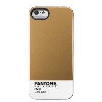 [holiczone] Trendy Pantone Universe Clip on Case for iPhone 5/5S by Case Scenario - Gold C/162478