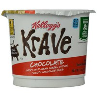 [poledit] Kellogg`s Krave Milk Chocolate Cereal in A Cup, 1.87 Ounce (Pack of 12) (R1)/12169997