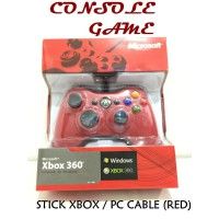 Stick Xbox Cable (Warna MERAH)