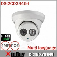[globalbuy] HIK 1080P Full HD 4MP Multi-language CCTV Camera DS-2CD3345-I POE IPC ONVIF Wa/4620544