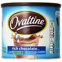 [macyskorea] Nestle Ovaltine Rich Chocolate Mix, 18-Ounce Canister (Pack of 3)/4413462