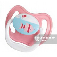Dr. Browns 1 Pack PreVent Pacifier Stage 1 (0-6M) - Pink