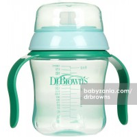 Dr. Browns Soft Spout Training Cup - Green