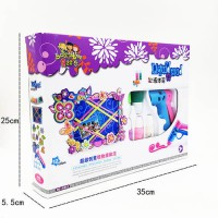 [globalbuy] High Quality Chinese Version Play Doh Doh Vinci Playdough Draw toy.35cm with 1/4443556