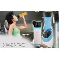 New Shake n Take 2 Sporty !! Double Cup !! As Seen on TV !