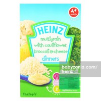 Heinz Dinners Multigrain with Cauliflower Brocolli Cheese Cereal 125gr - 4m+