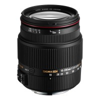 SIGMA 18 - 200 MM F/3.5-6.3 DC OS FOR CANON AF - HITAM