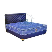 Uniland Kasur Springbed Simphony Single Pillowtop - Full Set Sapphire - 100x200