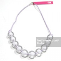 Lil Dot - Pearly Necklace Purple