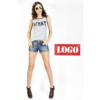 Logo Jeans - What Now Misty Sleeveless Tee