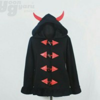 Devilish jacket / Hoodie / murah / Good quality / anime