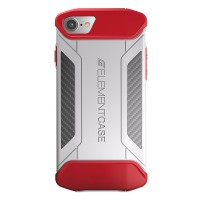 Element Case CFX for iPhone 7 - White / Red