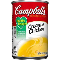 [macyskorea] Campbells Healthy Request Condensed Soup, Cream of Chicken, 10.5 Ounce (Pack /9745533