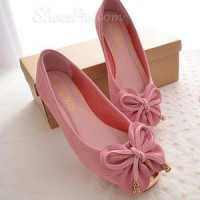 Flat Shoes Kupu-Kupu PINK