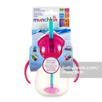 Munchkin Weighted Flexi Straw Cup 7oz - Pink