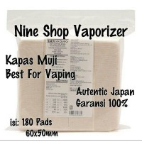 Kapas Vape Muji cotton No bleching ( Autentic Japan)