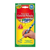 CRAYOLA My First Easy Grip Colored Pencil 811334