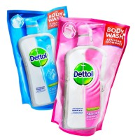 Buy 2 get 1 Free 450 ml Dettol Bodywash Pouch