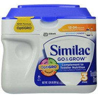 [poledit] Similac Go and Grow Stage 3, Milk Based Toddler Drink with Iron, Powder, 22 Ounc/12172606