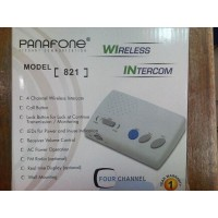 Interkom Wireless 4Ch PANAFONE 821