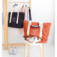 FIRSTPROJECT TAS WANITA TANGAN BAHU PUNDAK/SHOULDER TOTE TRAVELLING BAG WITH SHOES COMPARTMENT