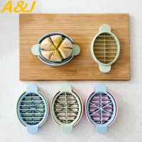 [globalbuy] Eco 3pieces/set Egg Slicer Wheat Straws Fruit Vegetable Creative Variety Tools/4438846