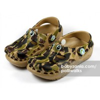 Polliwalks Sandal with Clogs - Gator Camo