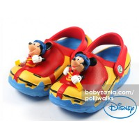 Polliwalks Sandal with Clogs - Mickey Mouse