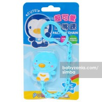 Puku Pacifier / Soother Chain - Blue