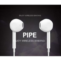PIPE Earphone Bluetooth Wireless Stereo Sport Earphone for Android iOS